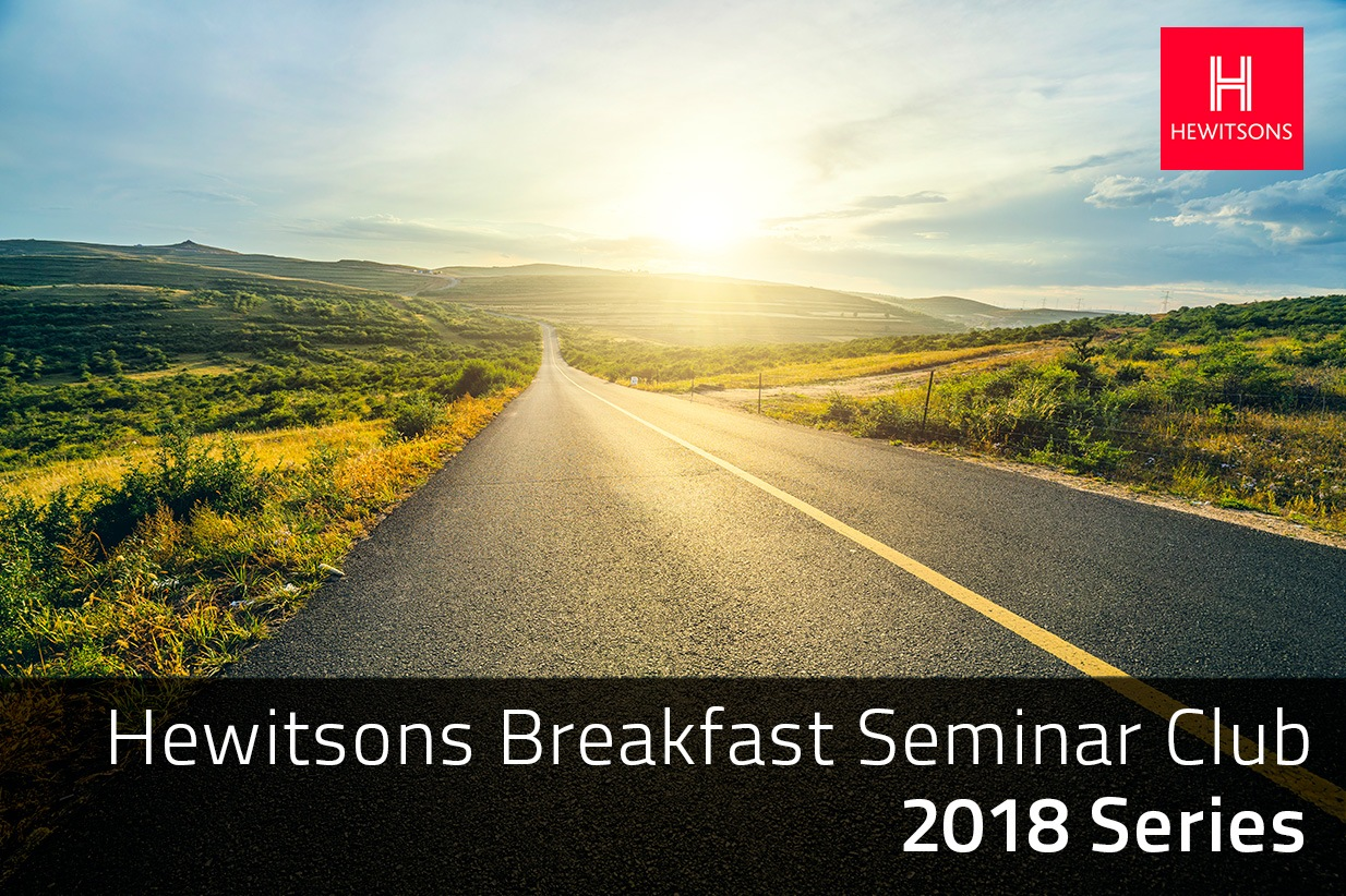 Hewitsons Breakfast Seminar Series 2018